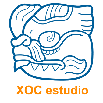 XOC Estudio - Logotipo Color